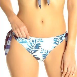 NWT Splendid Side Tie Bikini Bottoms. Size Small.